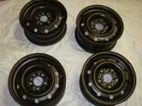 I have 4 rims which will fit Dodge caravan P.C.D