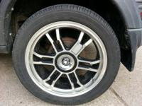 Nice looking wheels. No bends or cracks. Goodyear tires