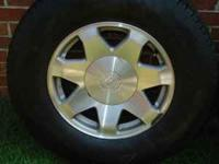 For sale is (4) Cadillac Escalade OEM wheels & tires.