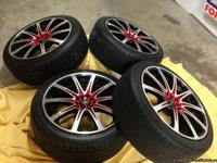 4 - Wheels/tires - Aluminum wheels, universal fit,