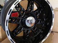 BRAND NEW XD Diesel wheels. Size: 20x12. Bolt Pattern: