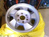 I am selling four chevy wheels that came off of a