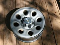 "Stock 17"" (4)wheels/rims for 2009 Chevy Silverado. (6"