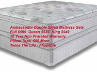 Where Can I Find A Flippable 2 Sided Mattress We Have