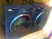 $1000 OBO Front load washer and dryer-2 years old but