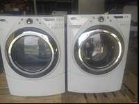 Whirlpool duet washer and dryer set. These are store