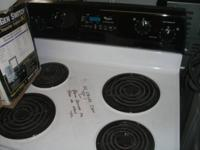 Excellent opportunity to own a Whirlpool Stove!! Comes