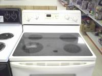 This is a LIGHTLY USED Whirlpool electric coil top