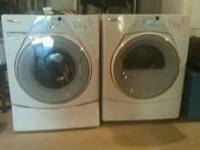 Whirlpool Duet front load washer and dryer. $500.00