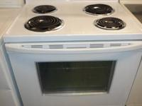 WE HAVE A WHITE GE GAS STOVE WE ARE SELLING IT FOR $175