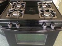 4 BURNERS  POWER BURNER/ACUSIMMER  OVEN LIGHT   TIMER