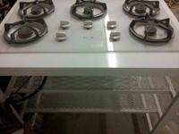 5 burner gas cooktop Whirlpool Gold model #