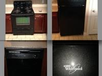 4 WHIRLPOOL BLACK APPLIANCES 4 SALE! COMPLETE KITCHEN