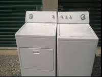 Washer is super capacity dryer is electric has cord and