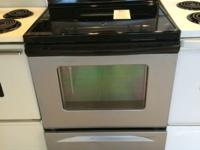 Whirlpool Stainless Smooth Top Range Stove Oven - USED