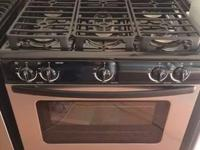 whirlpool stainless steel convection gas stove new