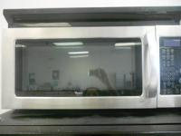 WHIRLPOOL STAINLESS STEEL OVER THE RANGE MICROWAVE FOR
