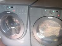 Whirlpool Washer and Dryer. Matching set. Only 200.00.