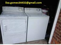 I have a Large capacity Whirlpool Washer for sale and