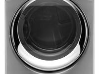 "Whirlpool WED94HEXL Duet Steam 27"" Electric Dryer with"