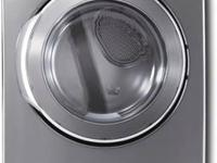 "Whirlpool WED9600TW 27"" Electric Dryer with 7.4 cu. ft."