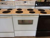 Whirlpool White Range Stove Oven - USED Freestanding