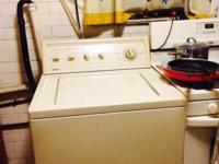 Whirlpool clothes washer. It is 7 years old and is