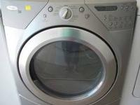 Whirlpool Duet Front Load Dryer, Gas This dryer has a -