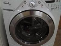 Whirlpool Duet front-loading washer. South Habitat