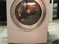 Whirlpool Washer and Dryer set. This is a Duet Steam