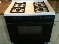 used 30 inch whirlpool gas stove/oven with warmer