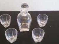 Have a Brand New Whiskey Decanter Set for sale!! Never