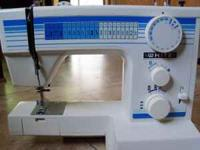 I have a White Deiuxe Sewing Machine Model # 1717. This
