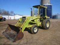 Excellent farm tractor. 6-cylinder diesel motor. 3635