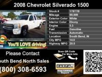 Call South Bend North Sales at (800) 308-6593 Vehicle