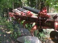 White 588 Moldboard plow for sale. 5 bottom, 18 inch,