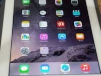 White Apple iPad 4 A1458 Touchscreen Tablet-$325 ios