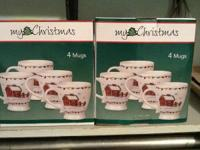 New we have four sets  $5 each  Christmas cup set $15
