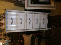 White French Provincial Lingerie Chest only $125. Lot's
