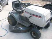 I have for sale a White FST-14 model riding lawn mower.