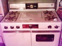 This is a Universal gas stove. -local pick-up only