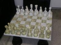"The MegaChess Onyx Chess Set with an 8"" King is a"