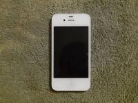 White Iphone 4 for Verizon. Very nice phone, works