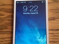 IPhone 5 white 32gb excellent shape at&t $325