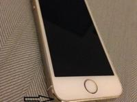 White/Gold iphone 5s 16GB in great working condition