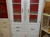 1930's / 1940's white kitchen closet. Approximate