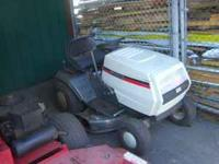 "1994 White LT-12 riding lawn mower. 42"" mowing deck"