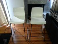 I have two barstools from Ikea that I am trying to