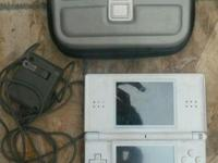Used Nintendo DS Lite Lot Includes white game console