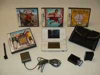 Up for sale is a pre owned working White Nintendo DS